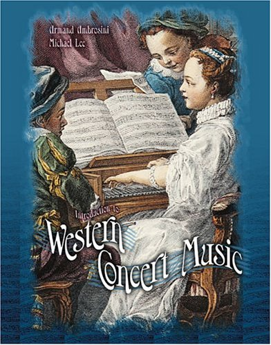 Introduction to Western Concert Music - Text Revised edition cover