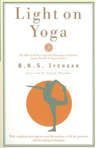 Light on Yoga The Bible of Modern Yoga...  1976 (Revised) edition cover