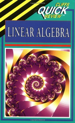 CliffsQuickReview Linear Algebra   1996 edition cover