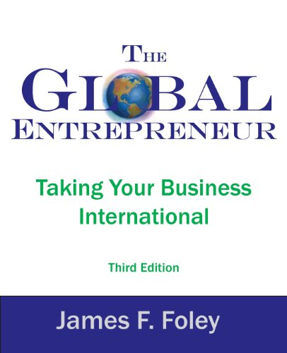 Global Entrepreneur 3rd Edition Taking Your Business International 3rd 2012 edition cover