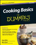 Cooking Basics for Dummies�  5th 2014 9781118922316 Front Cover