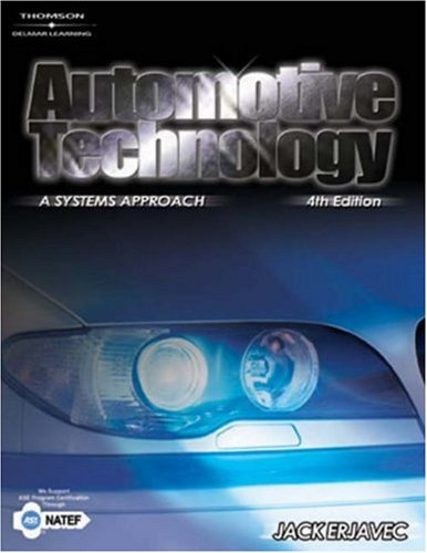 Automotive Technology A Systems Approach 4th 2005 (Revised) edition cover
