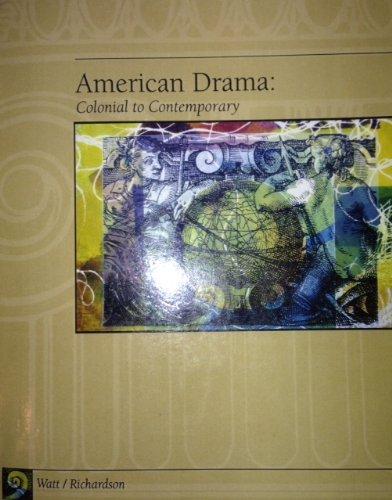 AMERICAN DRAMA >CUSTOM< 1st edition cover