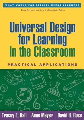 Universal Design for Learning in the Classroom Practical Applications  2012 edition cover
