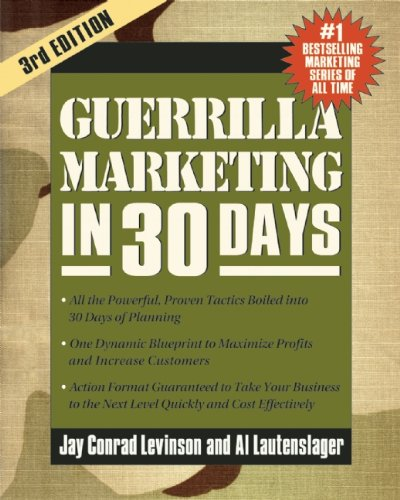 Guerrilla Marketing in 30 Days   2014 9781599185316 Front Cover