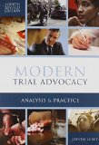 MODERN TRIAL ADVOCACY          N/A edition cover