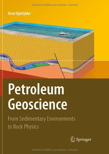 Petroleum Geoscience From Sedimentary Environments to Rock Physics  2010 edition cover