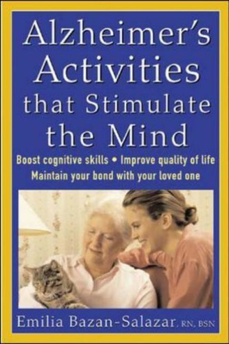 Alzheimer's Activities That Stimulate the Mind   2005 9780071447317 Front Cover