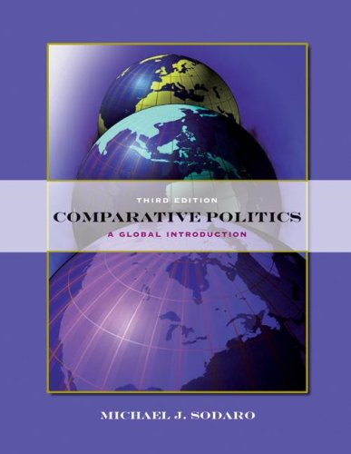 Comparative Politics A Global Introduction 3rd 2008 (Revised) edition cover