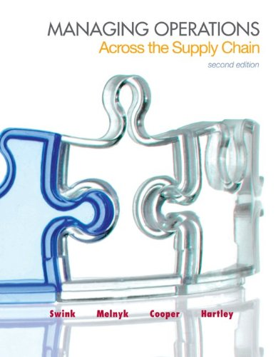 Managing Operations Across the Supply Chain with Connect Plus  2nd 2014 edition cover