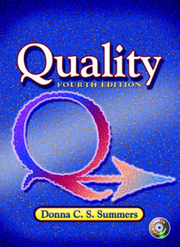 Quality  4th 2006 (Revised) edition cover