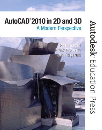 AutoCAD 2010 in 2D And 3D A Modern Perspective  2010 9780135079317 Front Cover