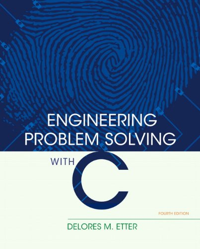 Engineering Problem Solving with C  4th 2013 (Revised) edition cover