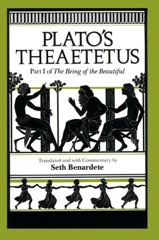 Plato's Theatetus  N/A edition cover