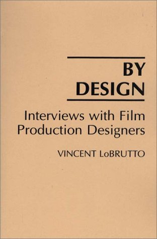 By Design Interviews with Film Production Designers  1992 edition cover