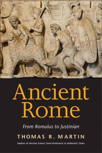 Ancient Rome From Romulus to Justinian  2013 edition cover