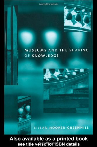 Museums and the Shaping of Knowledge   1992 edition cover