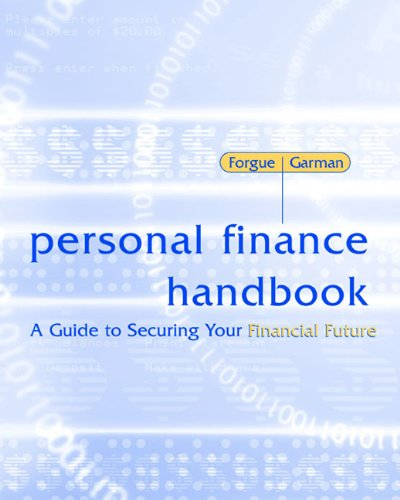 Personal Finance Handbook A Guide to Securing Your Financial Future 9th 2004 edition cover