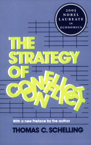 Strategy of Conflict  2nd 1980 edition cover
