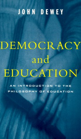 Democracy and Education   1997 edition cover