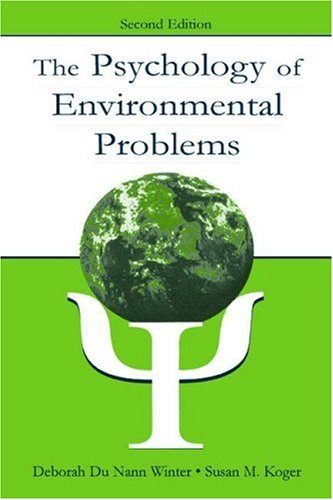 Psychology of Environmental Problems  2nd 2004 (Revised) 9780805846317 Front Cover