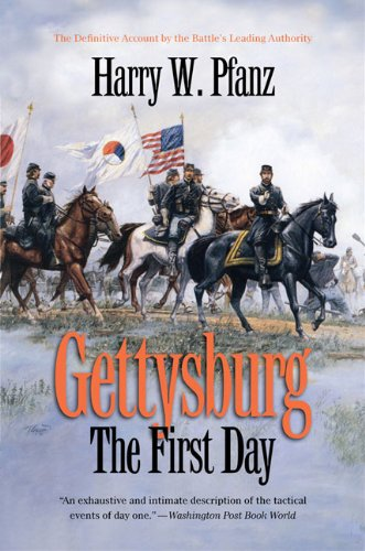 Gettysburg The First Day  2010 edition cover