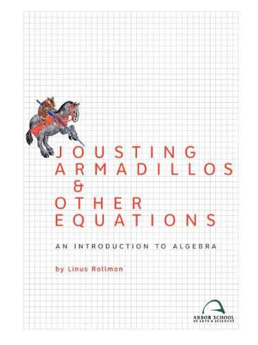 JOUSTING ARMADILLOS+OTHER EQUATIONS     N/A 9780982136317 Front Cover