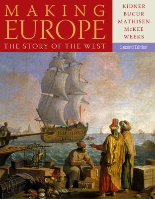 Making Europe The Story of the West 2nd 2014 edition cover