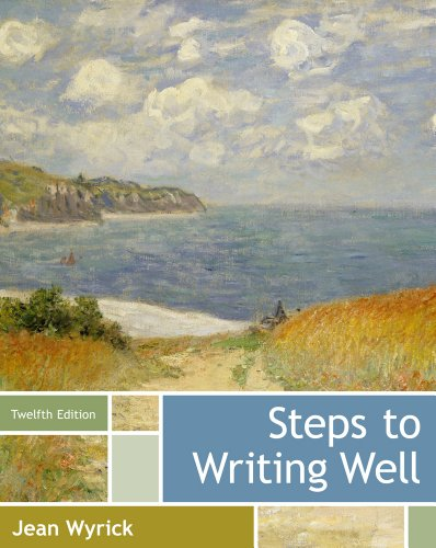 Steps to Writing Well  12th 2014 edition cover