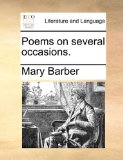 Poems on Several Occasions  N/A edition cover