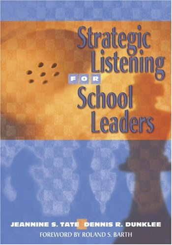Strategic Listening for School Leaders   2005 edition cover