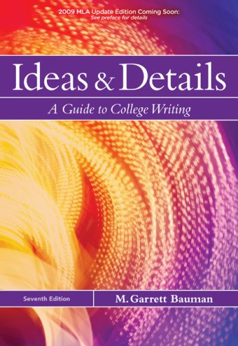 Ideas and Details A Guide to College Writing 7th 2010 edition cover