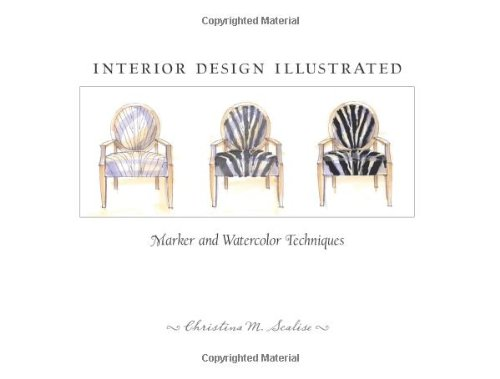 Interior Design Illustrated   2009 edition cover