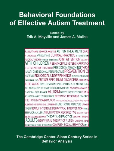 Behavioral Foundations of Effective Autism Treatment   2011 edition cover