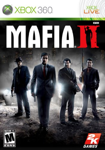 Mafia II Xbox 360 artwork