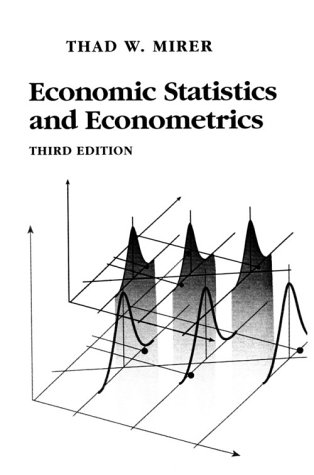 Economic Statistics and Econometrics  3rd 1995 edition cover