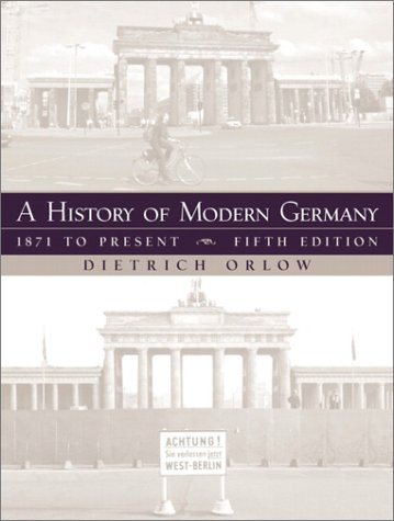History of Modern Germany 1871 to Present 5th 2002 edition cover