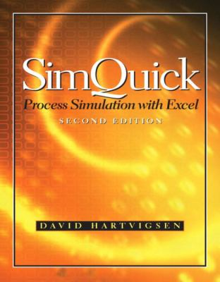 SIMQUICK:PROCESS SIMULAT.W/EXC 2nd 2004 9780131450318 Front Cover