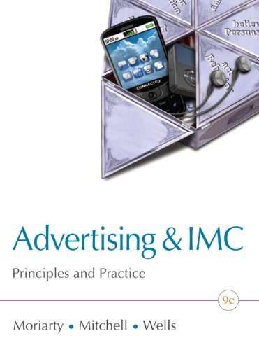 Advertising and IMC Principles and Practice 9th 2012 9780132606318 Front Cover