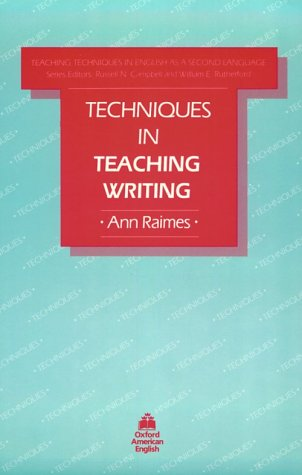 Techniques in Teaching Writing   1983 edition cover