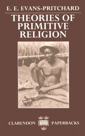 Theories of Primitive Religion  N/A edition cover