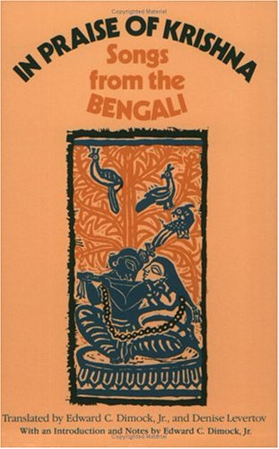 In Praise of Krishna Songs from the Bengali  1981 9780226152318 Front Cover