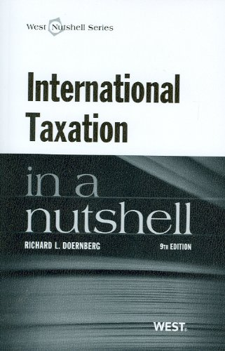 International Taxation in a Nutshell  9th 2012 (Revised) edition cover