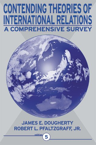 Contending Theories of International Relations A Comprehensive Survey 5th 2001 (Revised) edition cover