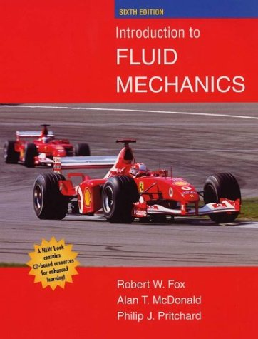 Introduction to Fluid Mechanics  6th 2004 (Revised) edition cover