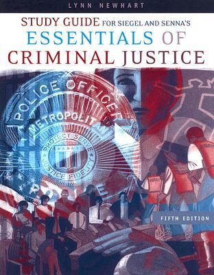 Essentials of Criminal Justice  5th 2007 (Student Manual, Study Guide, etc.) 9780495129318 Front Cover