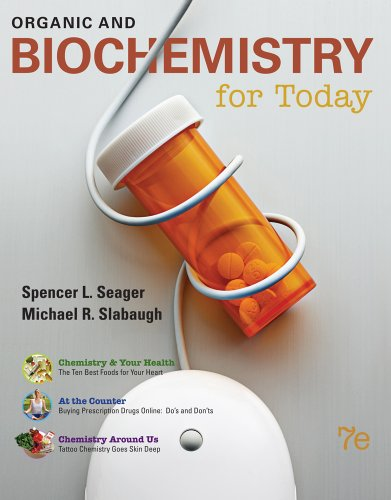 Organic and Biochemistry for Today  7th 2011 edition cover