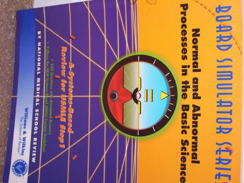 Normal and Abnormal Processes in the Basic Sciences 1st 9780683063318 Front Cover