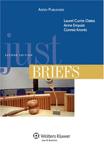 Just Briefs, Second Edition  2nd 2008 (Revised) edition cover
