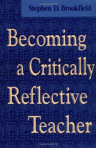 Becoming a Critically Reflective Teacher   1995 edition cover